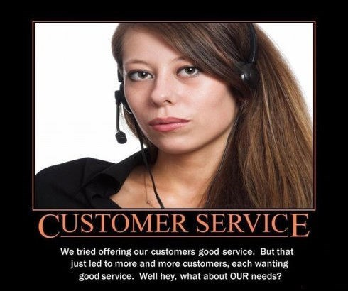 Customer Service Much Easier When You Have The Right